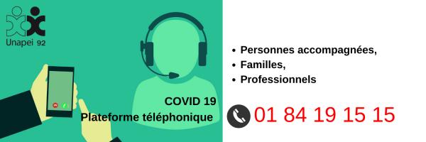 Plateforme téléphonique Unapei 92