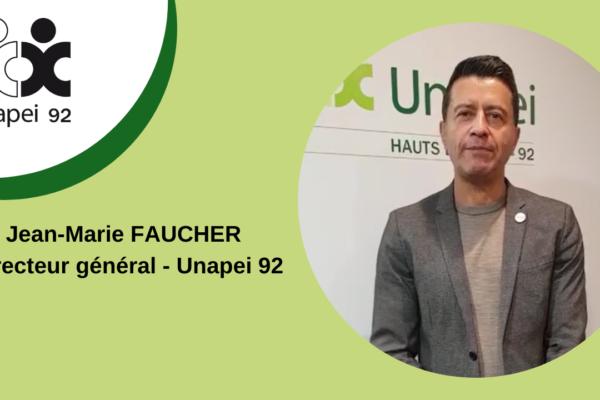 [COVID19] La situation dans les établissements Unapei 92 vidéo de Jean-Marie Faucher, Directeur général