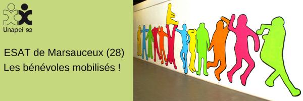 ESAT Unapei 92 de Marsauceux : les bénévoles mobilisés !
