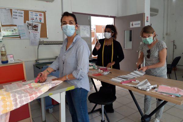 L'ESAT Cité-Jardins de Suresnes se lance dans la production de masques en tissu