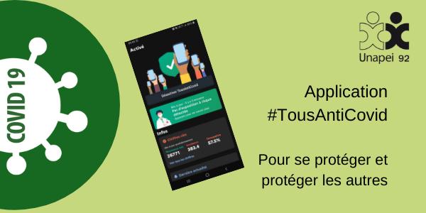 Application TousAntiCovid : pour se protéger & protéger les autres