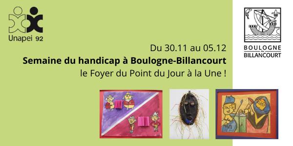 Semaine du handicap à Boulogne-Billancourt : l'Unapei 92 participe à la mobilisation !