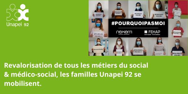 Négociations Ségur de la Santé : la voix des familles Unapei 92