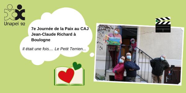 La Journée de la Paix format 2.0 et la belle histoire du petit terrien… Au CAJ Jean-Claude Richard