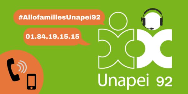 Plateforme téléphonique «Allo Familles Unapei 92» : adoptez le réflexe !