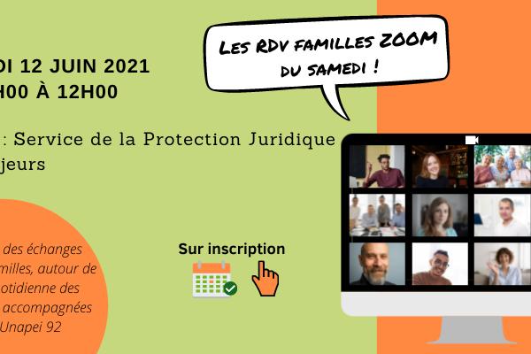 RDV Familles Zoom du samedi «Service de la protection juridique des majeurs»