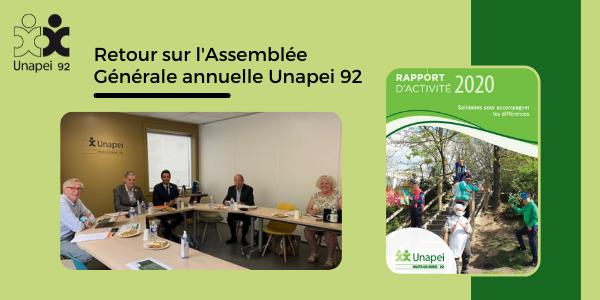 Unapei 92 : retour sur l'Assemblée Générale 2021